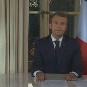 Emmanuel Macron sur le remaniement : «Il n'y a ni tournant ni changement de cap»