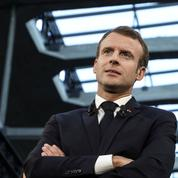 Macron en quête d'idées chocs pour renverser la table aux européennes