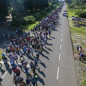Donald Trump alerte l'armée sur la «caravane» de migrants venus du Honduras
