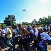 La caravane de migrants fait route vers les États-Unis