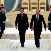 Après le rejet de son budget par Bruxelles, Rome cherche le soutien de Moscou