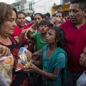 La «caravane» de migrants s'arrête temporairement au Mexique