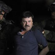 El Chapo, l'un des plus grands barons de la drogue, devant ses juges