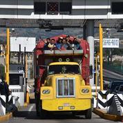 Quelque 4000 migrants en route pour les États-Unis font escale à Mexico