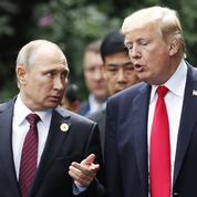 Poutine dit avoir eu une bonne conversation avec Trump à Paris