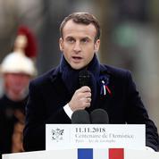 Macron : «Les démons anciens resurgissent, l'Histoire menace de reprendre son cours tragique»