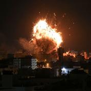 Gaza : le bâtiment de la télévision du Hamas détruit par l'aviation israélienne