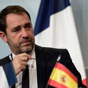 Castaner s'inquiète des «forts mouvements migratoires» à la frontière franco-espagnole