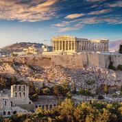 Athènes, l'hiver lui va si bien