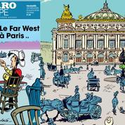 Avec Lucky Luke, Paris tire plus vite que son ombre !