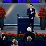Macron appelle Paris et Berlin à «une nouvelle responsabilité européenne»