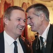 Européennes : Dupont-Aignan voulait conduire sa liste avec Jean Lassalle