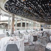 Ducasse sur Seine, la haute cuisine française sur le fleuve