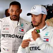 Formule 1 : quand Will Smith veut remplacer Lewis Hamilton au volant de la Mercedes