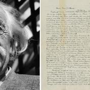 La «lettre sur Dieu» d'Einstein vendue à près de 3 millions de dollars
