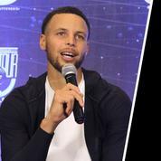 NBA : Stephen Curry pense que l'homme n'a pas été sur la lune, la Nasa l'invite