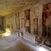 Découverte de la sépulture d'un prêtre vieille de plus de 4.400 ans en Égypte