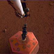 Le sismomètre français est installé sur le sol de Mars