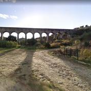 Un aqueduc centenaire s'effondre dans le Gard