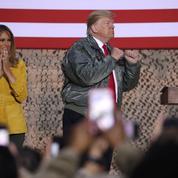 Irak : visite surprise de Trump aux troupes américaines