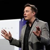 Elon Musk lance la construction d'une «giga-usine» Tesla en Chine