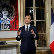 Sondage : timide remontée d'Emmanuel Macron