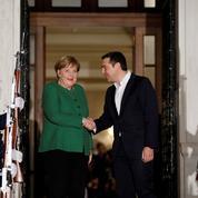 «Angela la rigueur» de retour à Athènes
