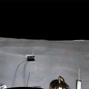 Premier panorama de la face cachée de la Lune par la sonde Chang'e 4