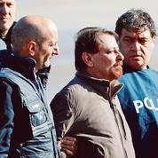 Cesare Battisti incarcéré en Sardaigne après son arrivée en Italie