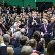 Dans l'Eure, Macron lance le grand débat sans «tabou»