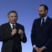 Édouard Philippe et François Bayrou veulent enterrer la hache de guerre