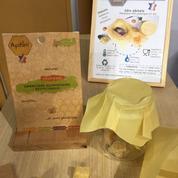 Apifilm, une alternative à l'emballage alimentaire plastique