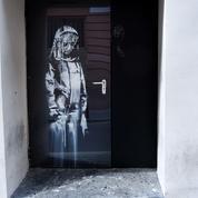 Graffiti de Banksy volé au Bataclan: un pochoir original de l'artiste offert à qui aidera la police
