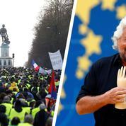 Les «gilets jaunes» peuvent-ils faire comme le Mouvement 5 étoiles en Italie ?