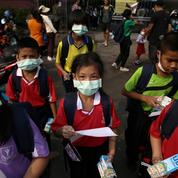 À Bangkok, des centaines d'écoles fermées à cause de la pollution