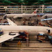 Boeing franchit le mur des 100milliards de dollars de chiffre d'affaires