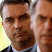 Flavio Bolsonaro, l'encombrant fils du président brésilien