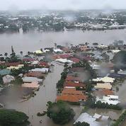 Inondations historiques en Australie : l'armée en renfort, des crocodiles en ville