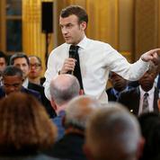 Macron s'installe dans la routine du grand débat