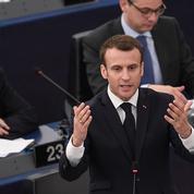 Au Parlement européen, la magie autour de Macron est retombée