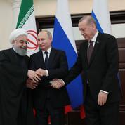 Moscou, Téhéran et Ankara veulent en finir avec «le terrorisme» en Syrie