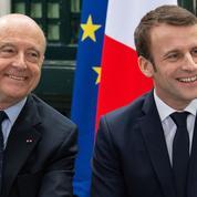 Juppé quitte la vie politique aux côtés de Macron, dont il loue la «capacité d'écoute»