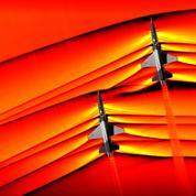 Voici des images inédites de la Nasa d'avions franchissant le mur du son