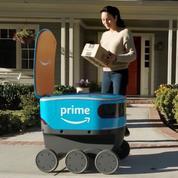 «Dernier kilomètre»: Amazon et FedEx testent leurs robots livreurs autonomes