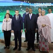 À Nairobi, Macron prend de nouveaux engagements pour la planète