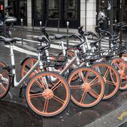 Le grand échec des vélos partagés sans borne