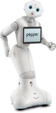 Le robot Pepper s'est vendu à 6000 exemplaires en 6 mois.