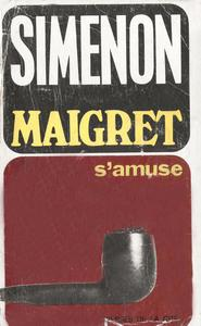 La couverture d'un Maigret paru en 1964.