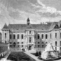 La Bibliothèque impériale vers 1835.