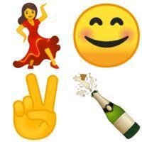 Les emojis envoyés dans le message au vendeur